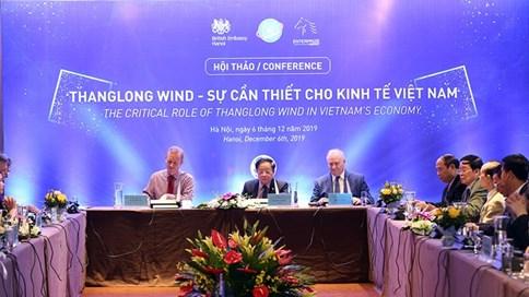 Hội thảo ThangLong Wind - Sự cần thiết cho kinh tế Việt Nam