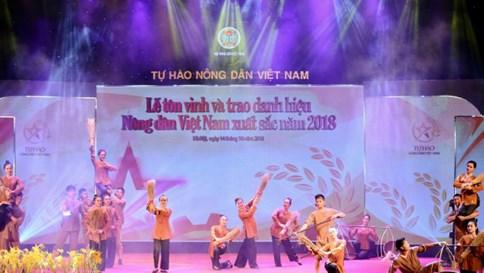Chương trình Tự hào Nông dân Việt Nam xuất sắc năm 2018
