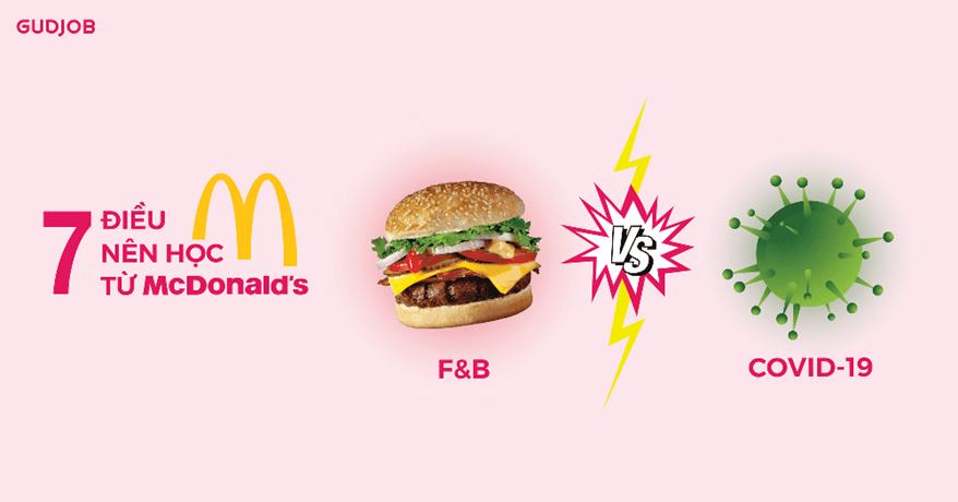 7 điều đáng học từ McDonald's trong mùa dịch