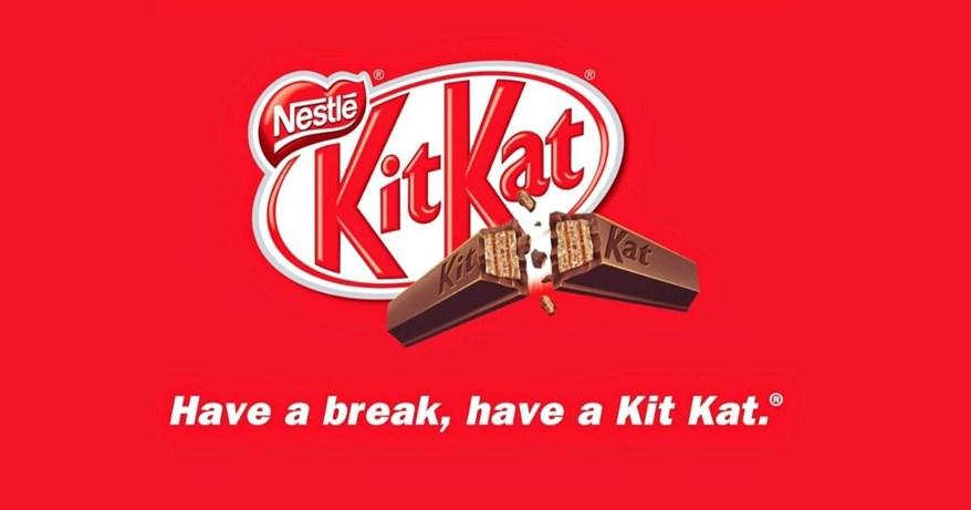 """""""Have a break, have a Kit Kat"""" – Slogan ấn tượng nhất mọi thời đại"""