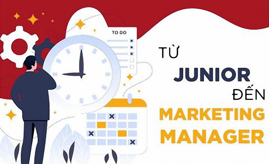 Để trở thành Marketing Manager, con đường nào dành cho các Junior?